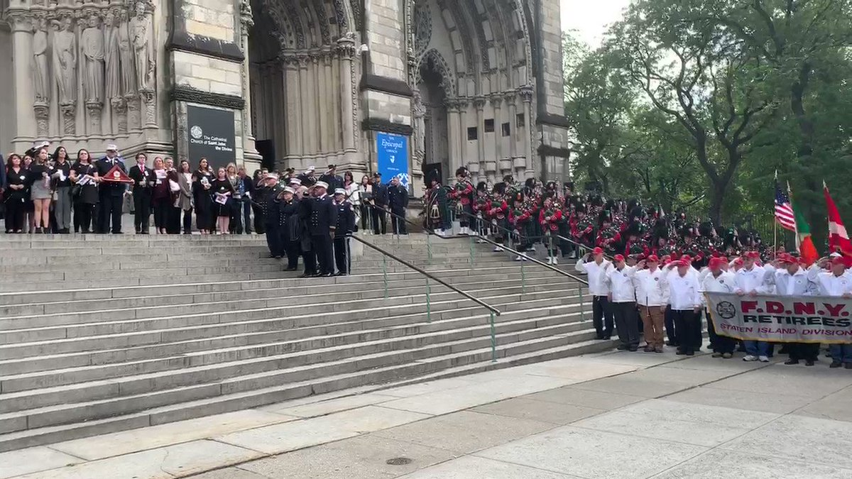 The 112th Annual #FDNY Memorial Day Service can be viewed in full at facebook.com/NYCMayor