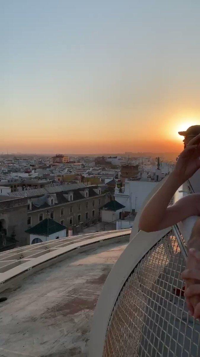 Seville by sunset 😍😍
