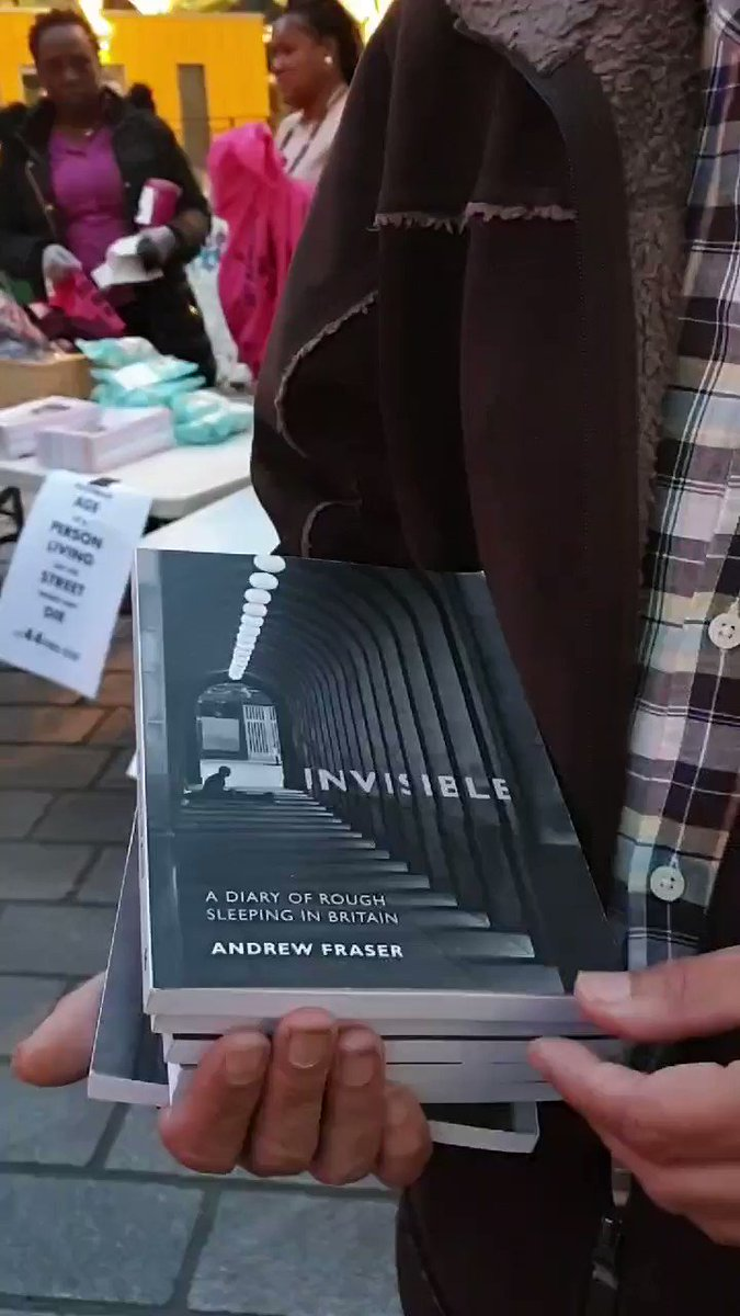 Sheila Kaur Interviews Andrew Fraser on his experiences of homelessness recorded in his new book Invisible @Freedom_Paper @hope4newham @GuardianBooks @NewhamLondon @MayorofLondon #WorldHomelessnessDay #Stratford #London