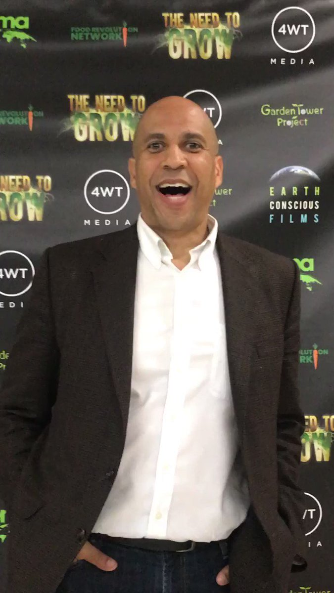"""I'm blown away by this documentary, #TheNeedToGROW! It's something we all should see, learn, engage, and activate on what is a global crisis but also a planetary possibility."" - U.S Senator @corybooker RT if you want to see more gov. leaders champion #regenerativeagriculture"