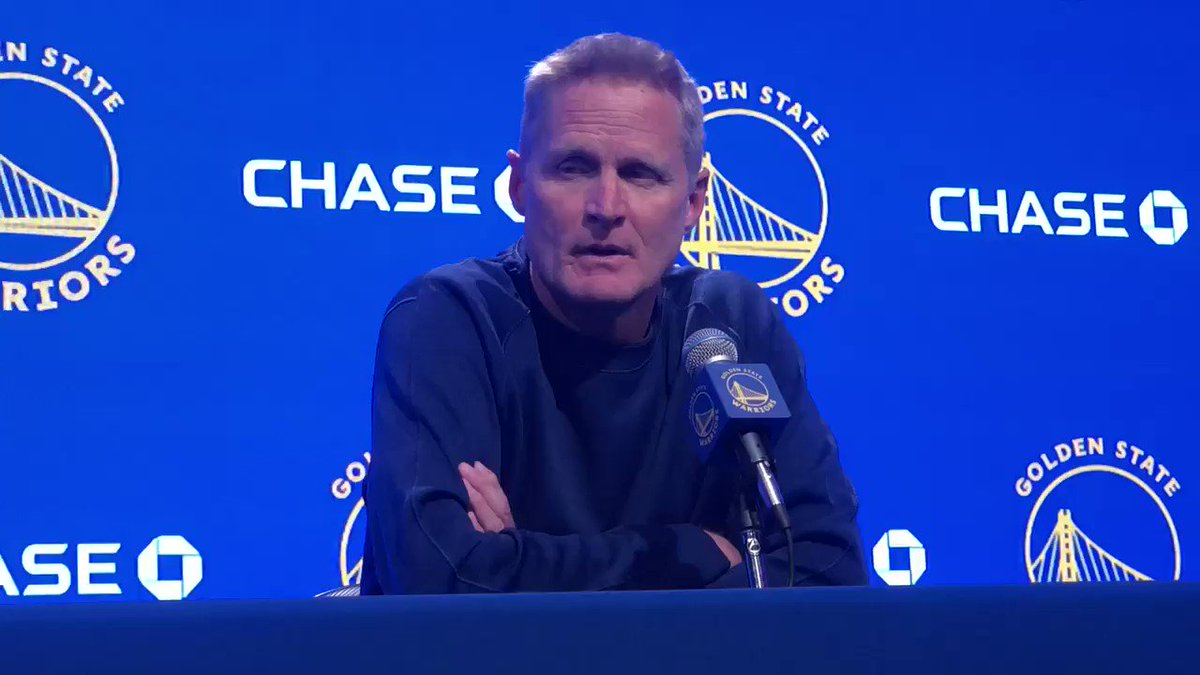 Steve Kerr still won't talk about China, but he has words for President Trump