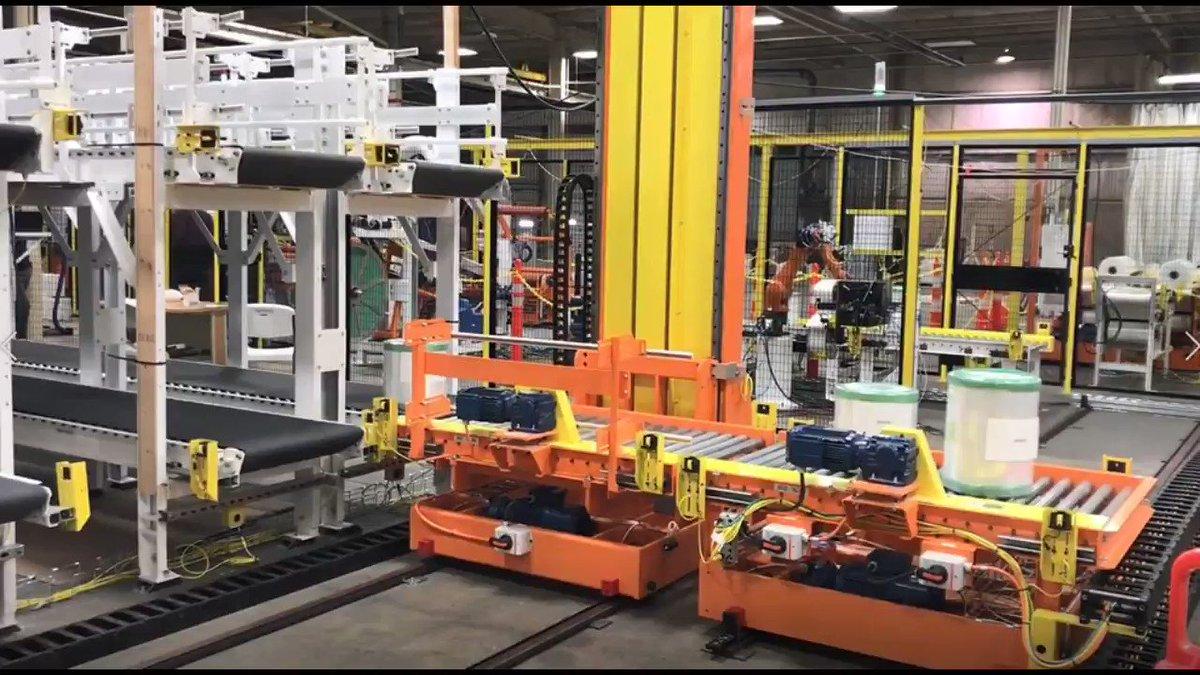 Image for the Tweet beginning: Over/Under Conveyor & Transfer Cart: