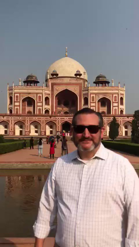 Amazing to see Humayun's Tomb in New Delhi during my Indo-Pacific friends & allies tour. India and America are natural allies who share common values. I'll continue to work together in expanding the India-US friendship.