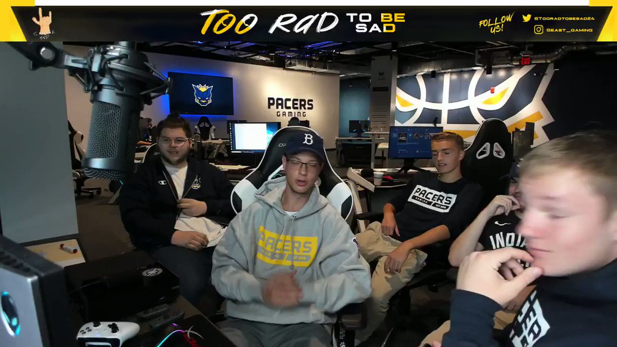 Today we're hosting a local charity stream in our HQ. Stop by on @Twitch and tell them we sent you! Link: twitch.tv/trtbs
