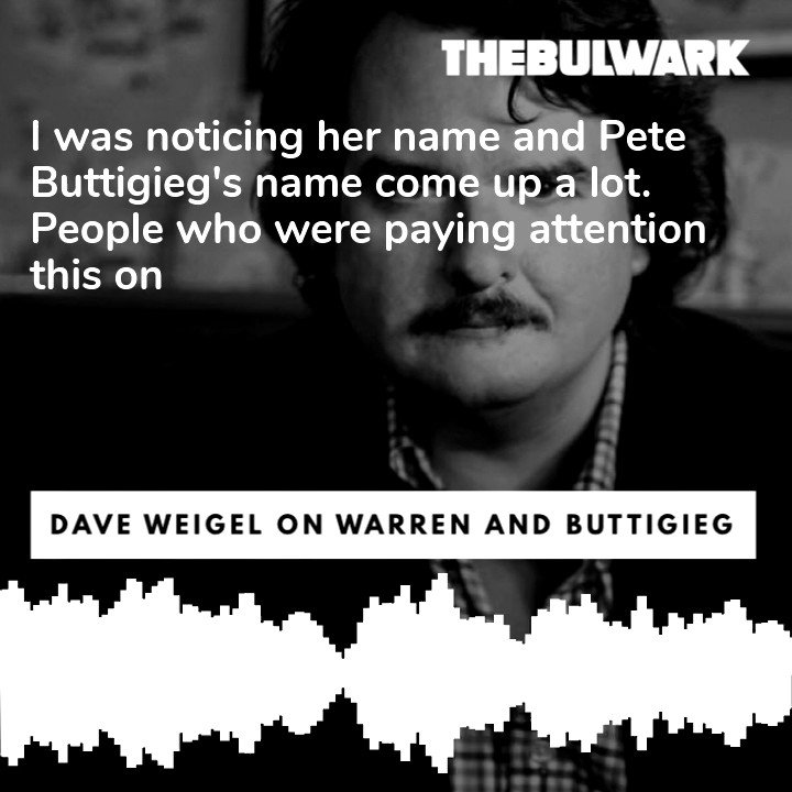 On the @BulwarkOnline I talked with Wapo road warrior @daveweigel about the buzz on the campaign trail ... and what Dem voters are really interested in.... Give it a listen... podcast.thebulwark.com/dave-weigels-t…