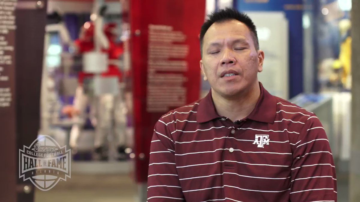 Lessons from Legends ep. 3 - Dat Nguyen @AggieFootball The name Dat Nguyen means player, coach and businessman. Some lessons from the field never go away and he knows the secret to motivating a team. @TAMU @NFFNetwork @CFB150 #ImARealFan