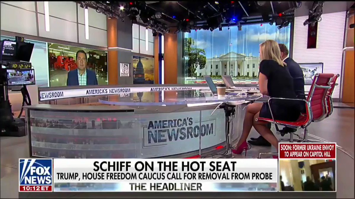 """""""[Democrats have] weaponized the House Intelligence Committee which is supposed to be overlooking the 17 agencies and theyve turned it into this fake impeachment committee."""" -@DevinNunes"""