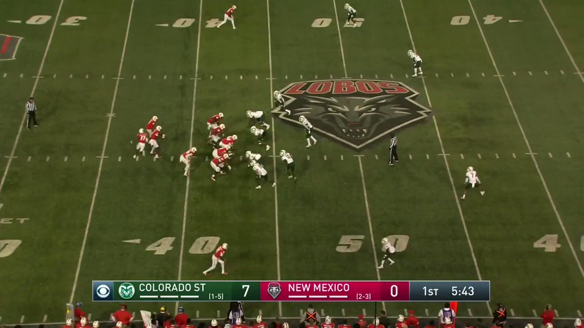New Mexico running back is college football's biggest bozo after celebrating touchdown too soon