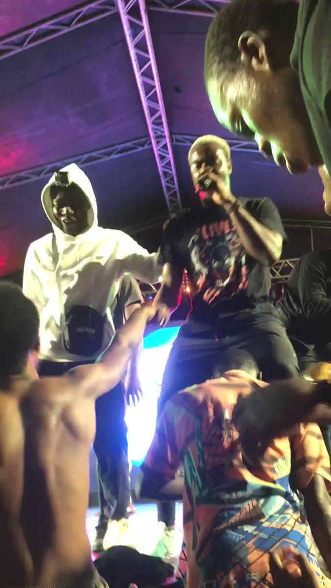 @darkovibes @OneRJZ @kiddblackrapgod @KwakuBs @Spacely1z @LaMemeGang .. #FreshersFair KNUST 🔥🔥🔥