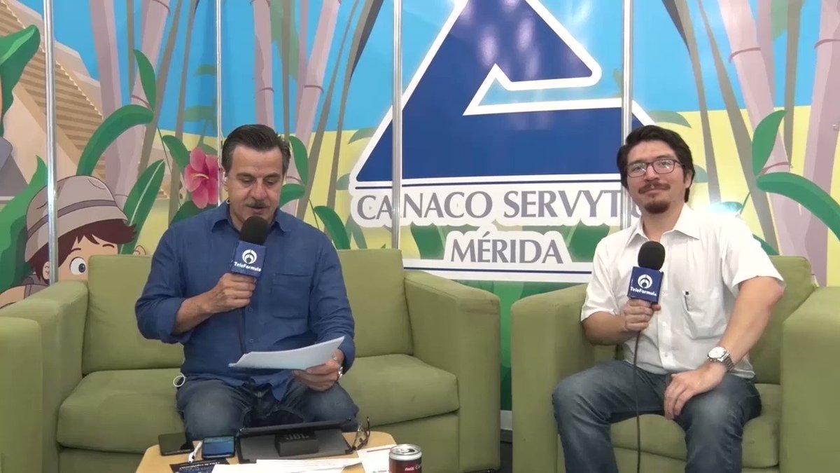 Primer año de gestión del gobierno ha sido muy bueno. #AbriendolaConversación. #TeleFórmula Yucatán.