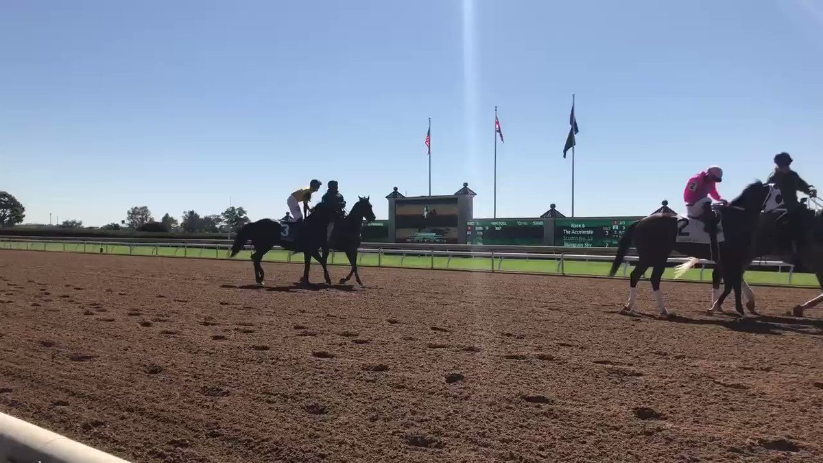 Day at the track @keenelandracing