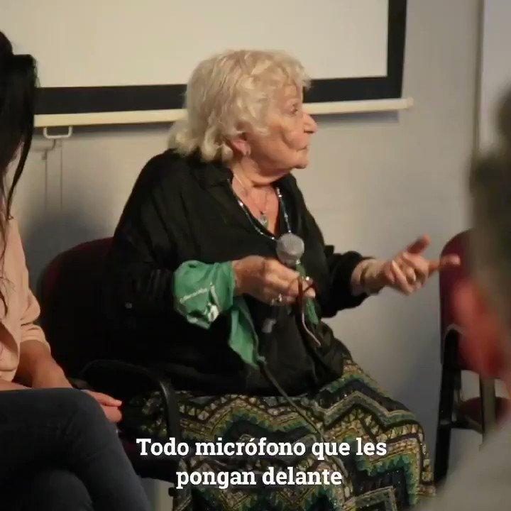 Este encuentro con Nelly Minyersky y @MontenegroViki ha sido el precalentamiento del gran #encuentronacionaldemujeres de La Plata💜 Más de 150 mil mujeres, cientos de talleres, generaciones de luchas, inteligencia colectiva como pocas veces he visto🙋🏼♀️ #diálogosfeministas