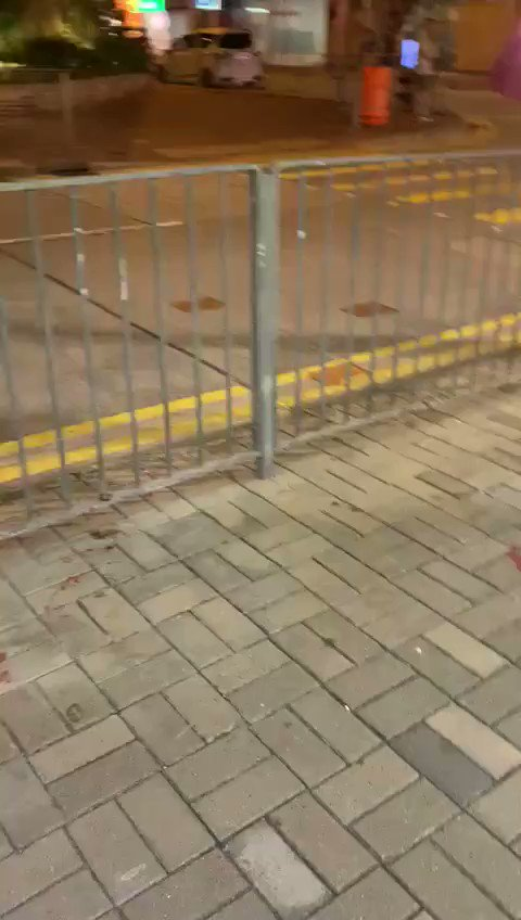 Kylie Ng - This video was recorded by Jocelyn Chau. She was distributing poster of promoting district election. In this video we can see the situation when she was being attacked.   Afterwards, she felt dizzy and nausea, then went to the hospital for medical treatment.