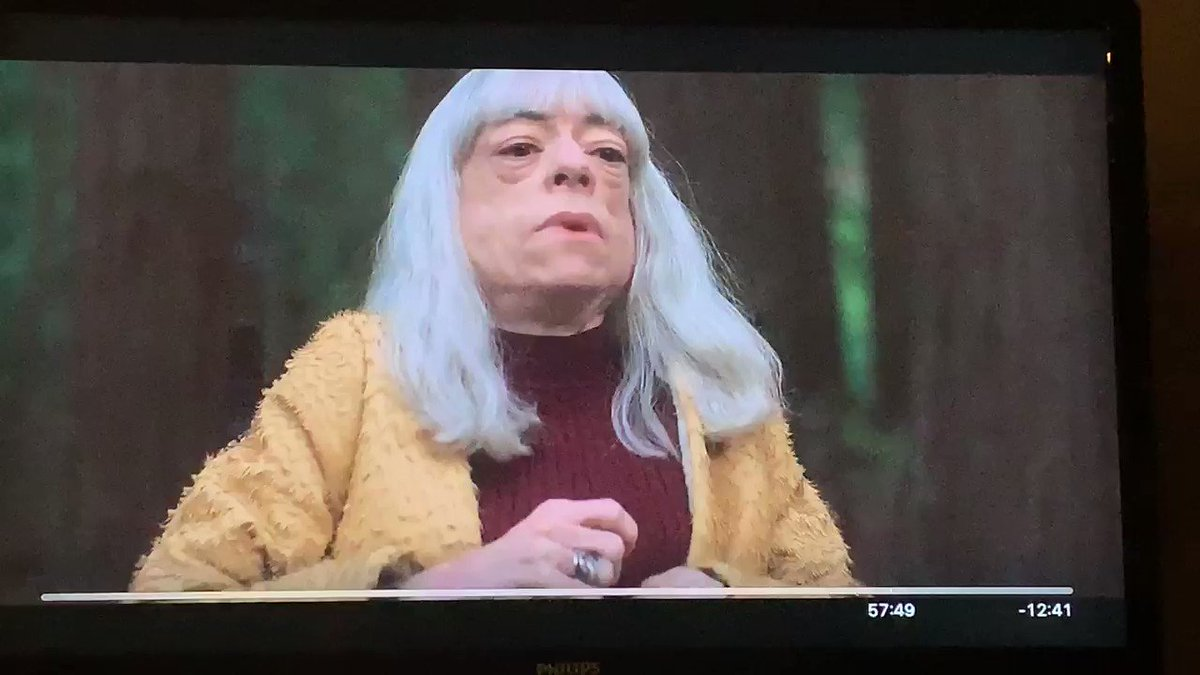 I absolutely love @thelizcarr  in Part II of @The_OA  @Netflix  we must have more of this!! Season 3 was about to be off the hook!! @z_al  @britmarling  #SaveTheOA