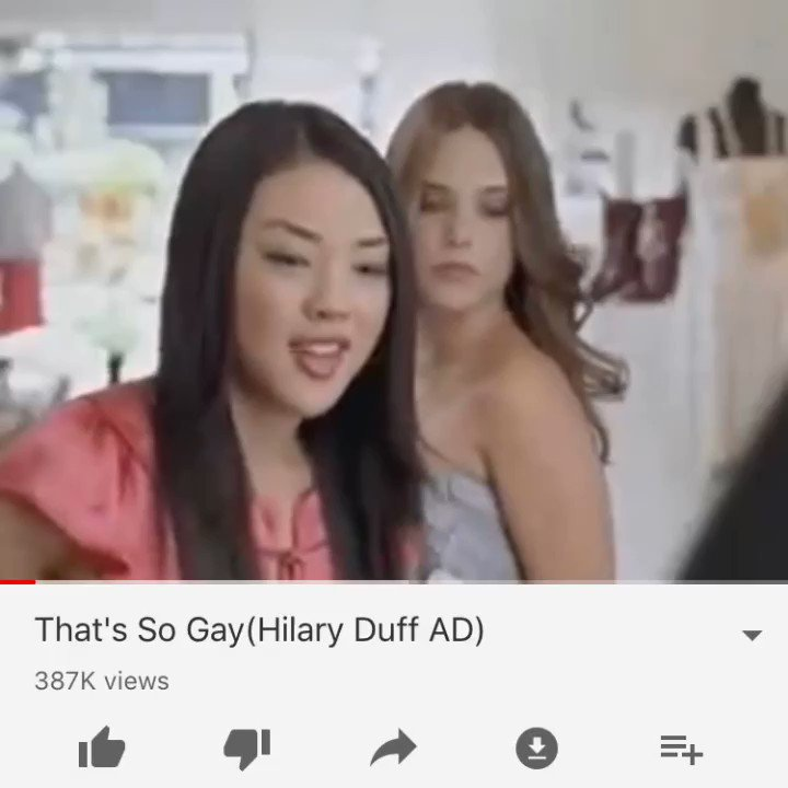 Image for the Tweet beginning: This ad ended homophobia. @HilaryDuff