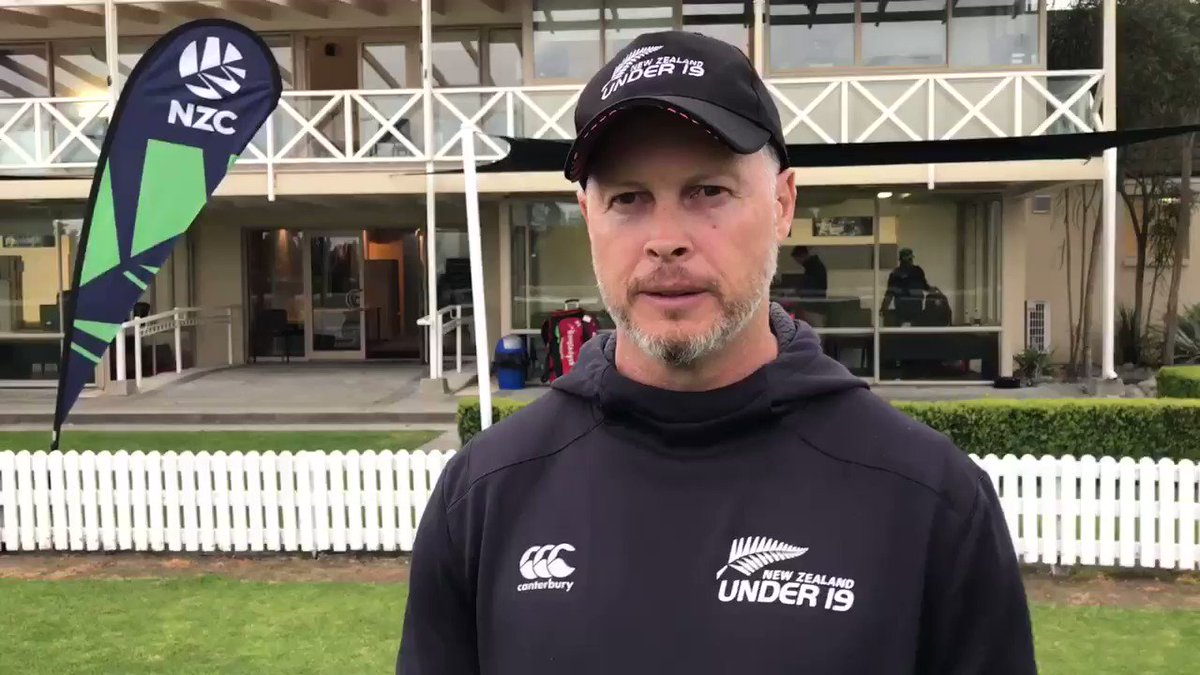"""NZ U19 coach Paul Wiseman believes his young squad have been """"shown the level required"""" by Bangladesh in their 5-game series 🎥🎙 #cricketnation"""