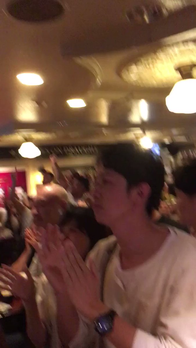 After the typhoon this is just what japan needs after coming top of their division for rugby World Cup.  Amazing match and wonderful to watch in a bar in Tokyo so much tension and atmosphere