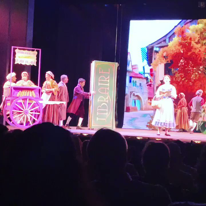 @csuf @CSUFCOTA presented Beauty and the Beast last night.  But wait! Who is that bookseller??  I think it's @TitanPrezVirjee  #amazingstudents #belleoftheball #weareallalittledifferent #goseethisshow