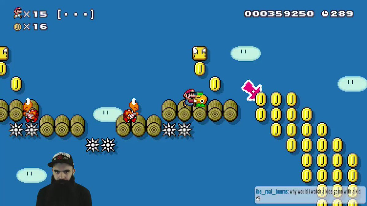 I'm starting to think that this game might hate me.. #SuperMarioMaker2