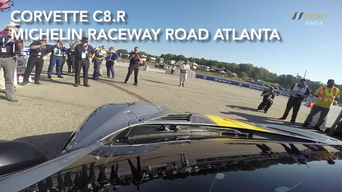 Let the Chevy Corvette C8.R's 5.5-liter V8 serenade you as it laps Road America