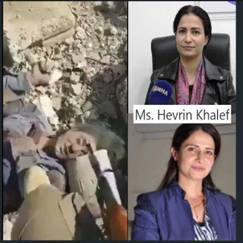 """Image result for hevrin khalaf dead body"""""""