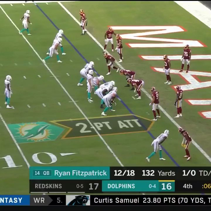 Video: Dolphins Lose To Redskins In Absolutely Heartbreaking Fashion