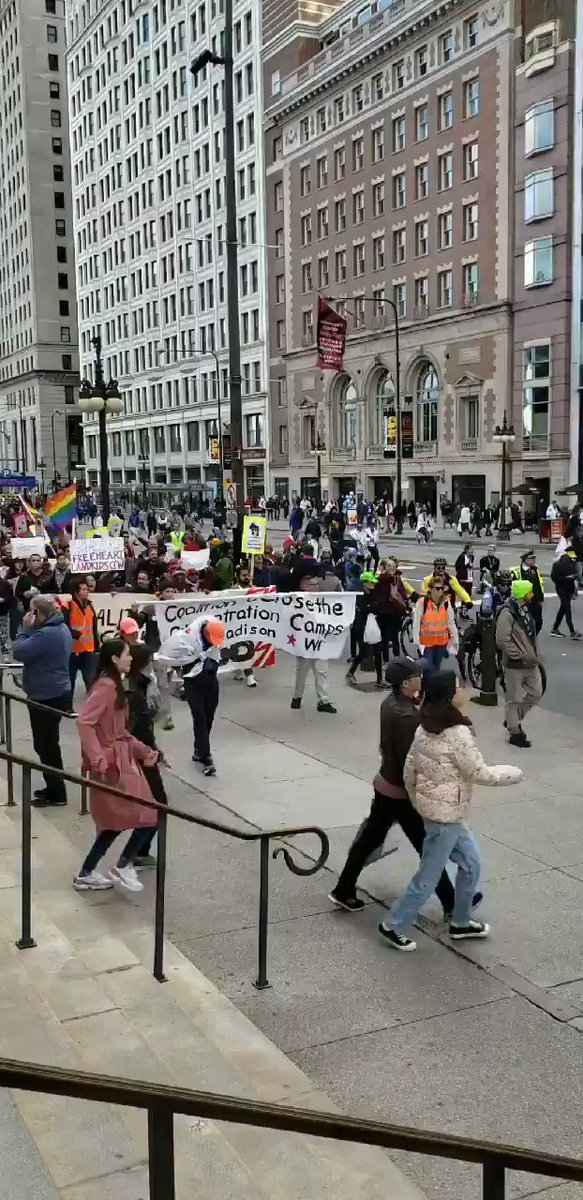 Image for the Tweet beginning: The people of Chicago demand