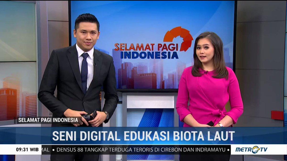 Seni Digital Edukasi Biota Laut  https://www.metrotvnews.com/s/N4ECxVnl