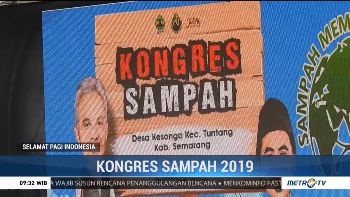 Kongres Sampah 2019 Digelar di Desa Kesongo https://www.metrotvnews.com/s/kELCYZQ0