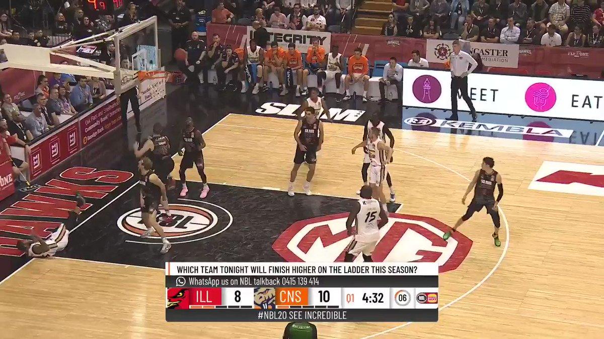 WATCH: LaMelo shows off flashy passing, hops in Illawarra's win