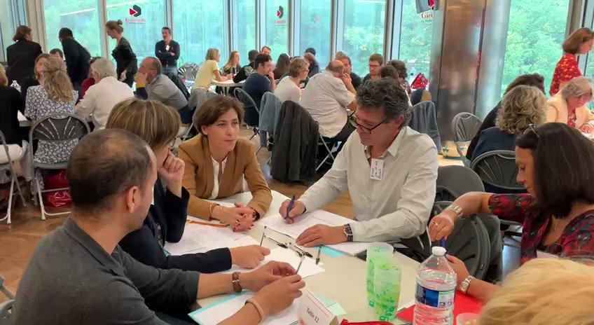 Image for the Tweet beginning: Lancement avec @onoblecourt & @FabriceLenglart
