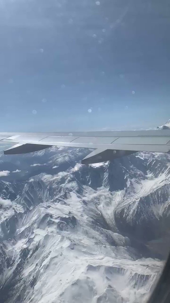 PIA @Official_PIA Flight ✈️ from Skardu to Islamabad was a great experience. Tried to make a video of some beautiful views of Nanga Parbat. #travelphotography #TravelDiaries