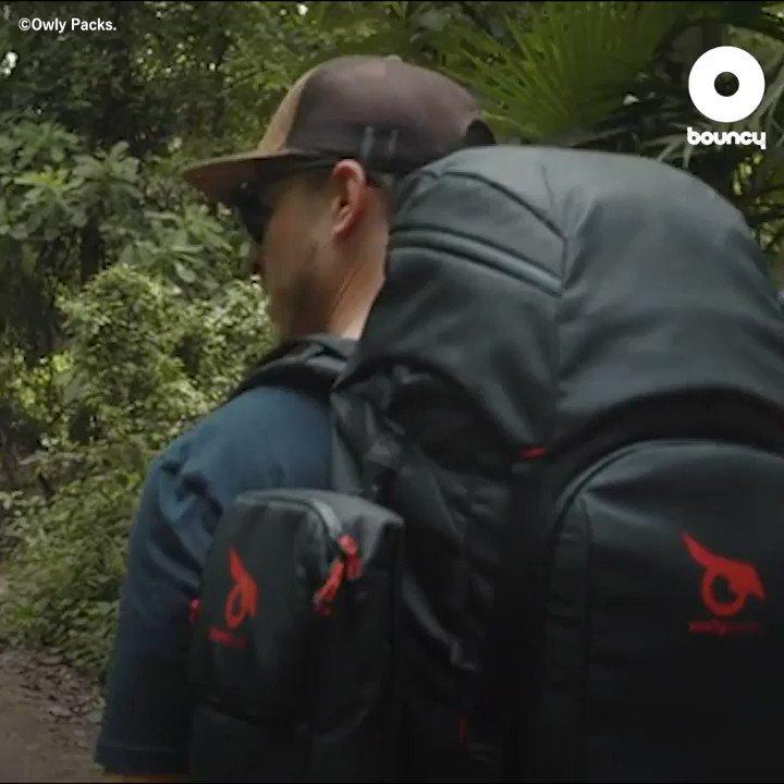 テント搭載モジュラー式バックパックを持って素敵な旅をしよう⛰🎒by Owly Packs価格や入手方法はこちら👉#旅行 #旅行好きな人と繋がりたい #旅 #カバン