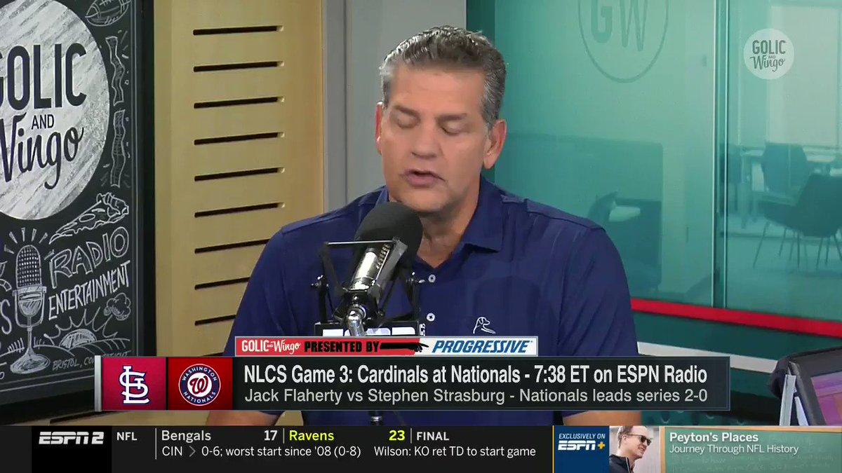 """That is your decision to make... And nobody should be getting involved in that."" -@espngolic on people criticizing Nationals reliever Daniel Hudson for missing Game 1 of the NLCS for the birth of his daughter."