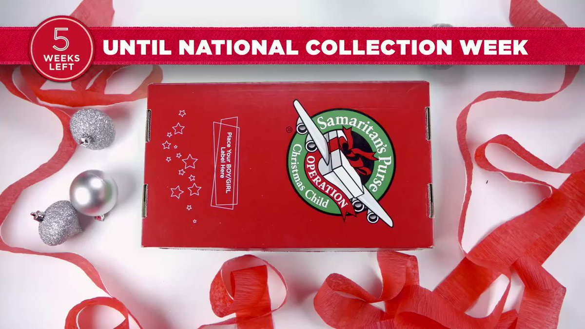 Only 5 weeks until National Collection Week! See gift suggestions, download tracking labels, and find your drop-off location here: sampur.se/2MtDpKn