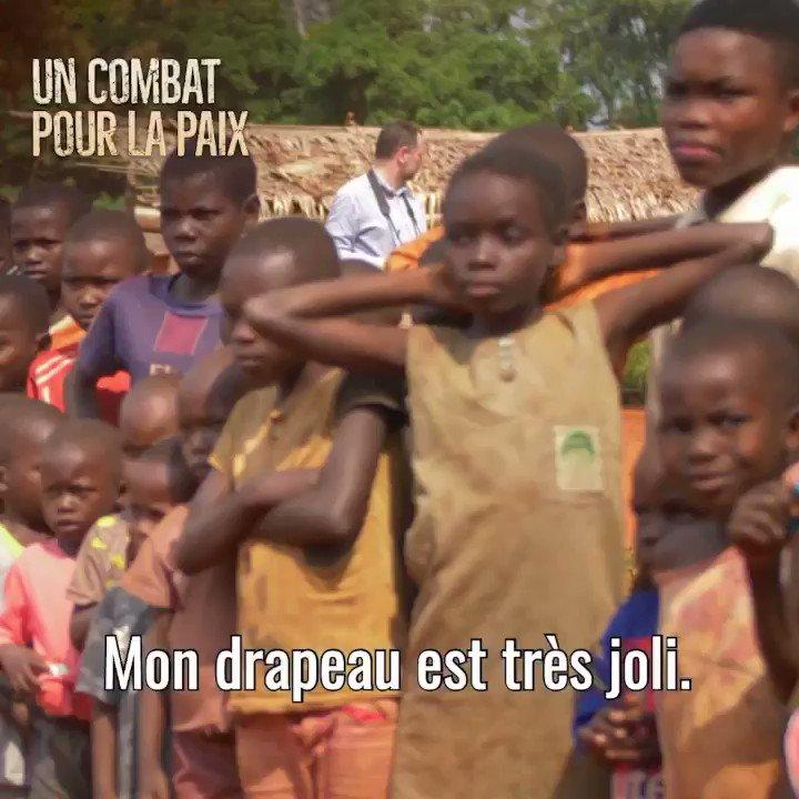 """Image for the Tweet beginning: """"Un combat pour la paix"""","""
