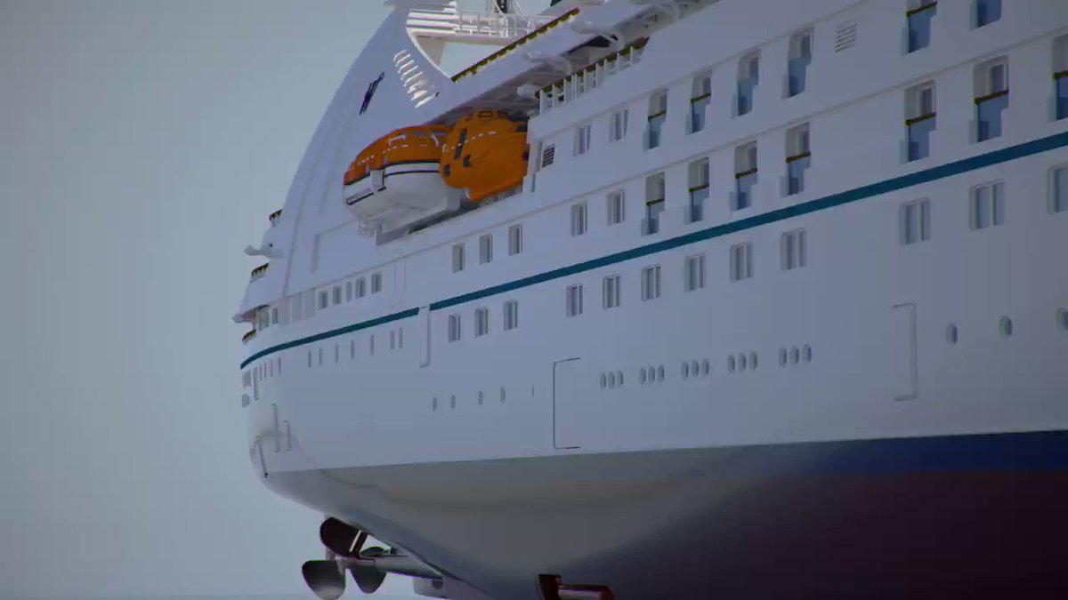 Image for the Tweet beginning: Watch Star Breeze cruise ship