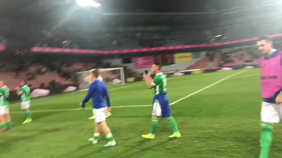 🎥 Thankyou to the #GAWA in Prague! You deserved that win! 👏🏼💚