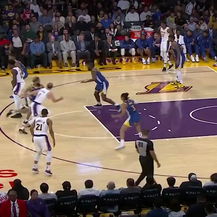 LeBron's reaction to the anklebreaker 🤣