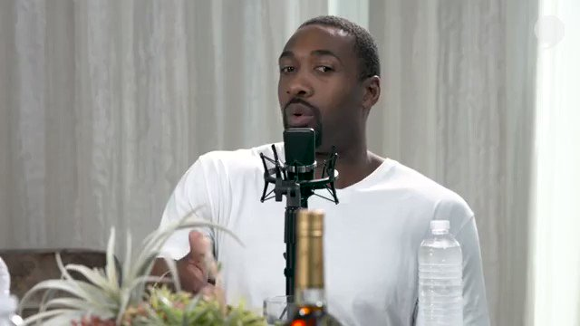 Gilbert Arenas gives this HYSTERICAL take on his draft experience. #knuckleheads #QandD #agent0 #nbadraft