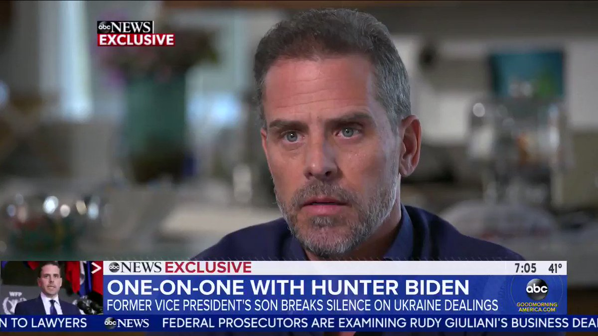 """Democrat presidential candidate Joe Bidens son, Hunter Biden: """"It is impossible for me to be on any boards without saying that I'm the son of the vice president of the United States — lots of things would not happen in my life if my name wasn't Biden."""""""