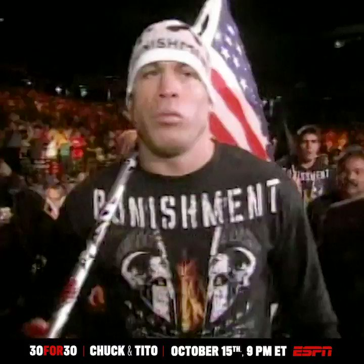 Tito Ortiz owns one of the most storied careers in UFC history.  Before watching his 30 for 30 with Chuck Liddell, take a look at what made him The Huntington Beach Bad Boy 😤 (via @30for30)