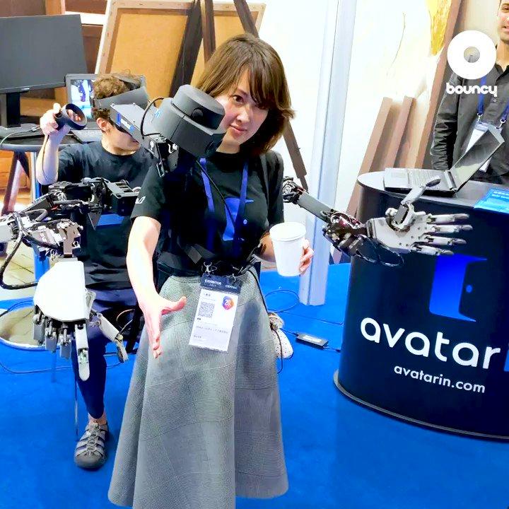 #CEATEC 2019 #瞬間移動 を体験! #ANA が描く、距離も肉体も超える未来詳細は記事でも!👉 #アバター #SF