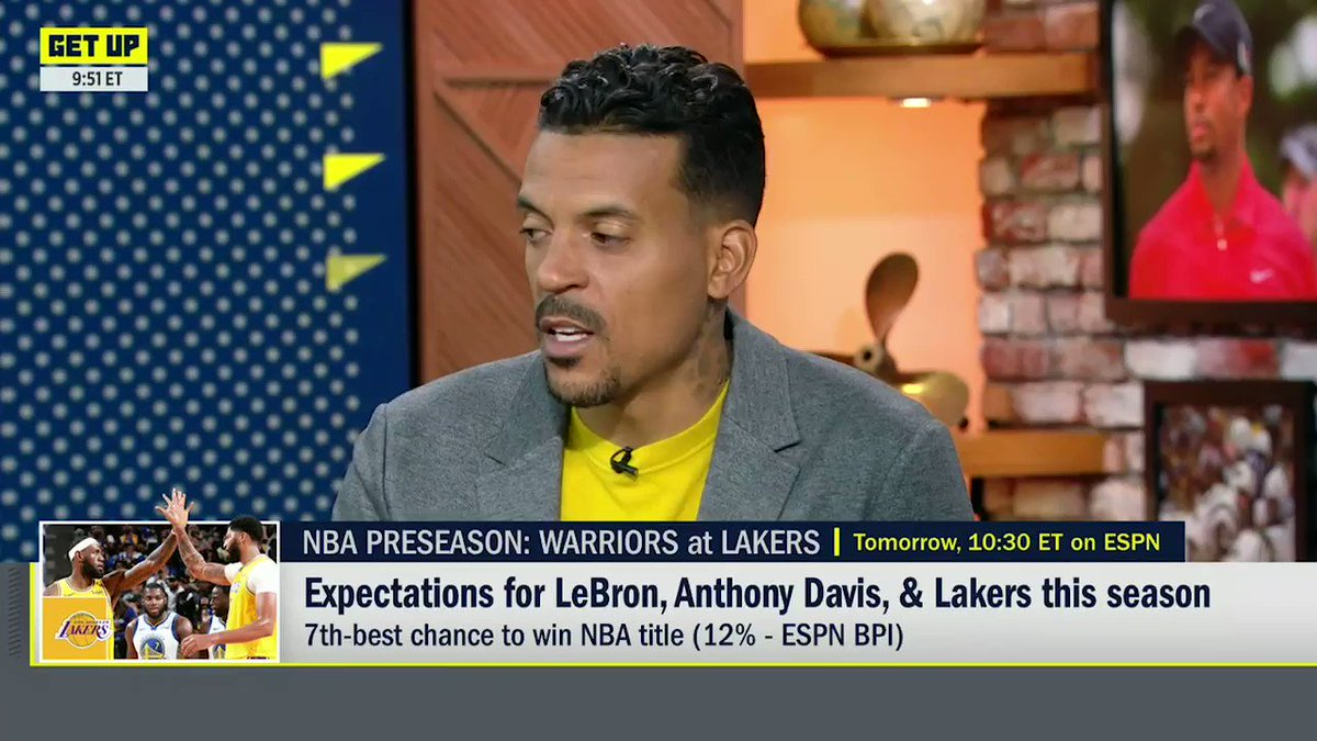 Its the Clippers championship to lose this year. LA vs. LA? @Matt_Barnes22 is riding with the Clippers.