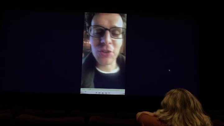 Before the cast screening of #frozen2 last night, we got a video response from #jonathangroff sharing his reaction 2 the movie. I asked if I could share it since Jonathan doesn't yet know Twitter or Instagram exist. Since I'm the King of hyperbole, I'll let his words speak 4 me.