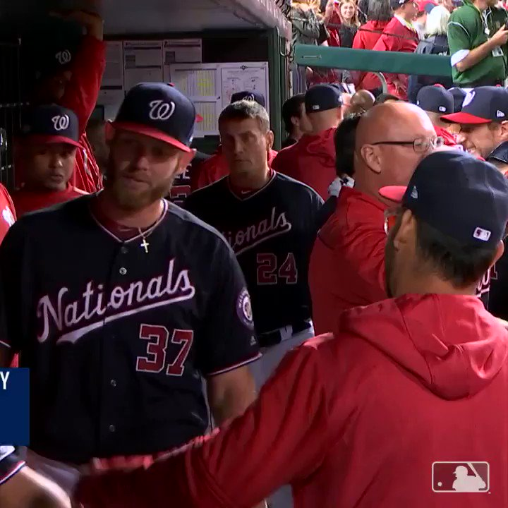 This group hug in the Washington Nationals dugout is the most heartwarming moment of the MLB playoffs