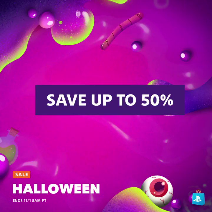 From Netherrealm to Raccoon City. Enjoy shocking savings during PS Store's Halloween Sale: https://play.st/35AczsQ