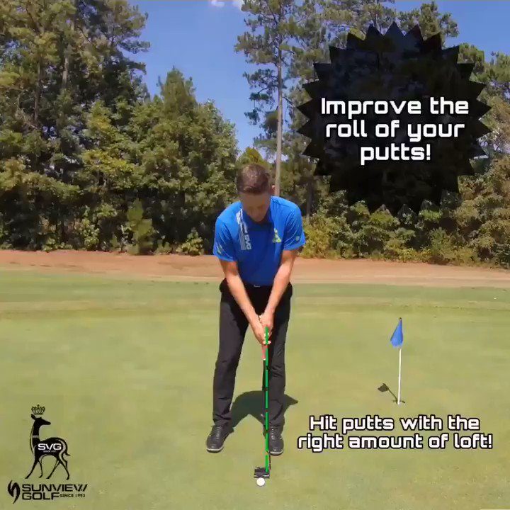 One of the most important fundamentals to putting is how well you can roll the ball. Often overlooked, but is a vital factor in becoming a great putter. The best putters in the world present about 3-4 degrees of loft at impact, consistently. #shortgamegains