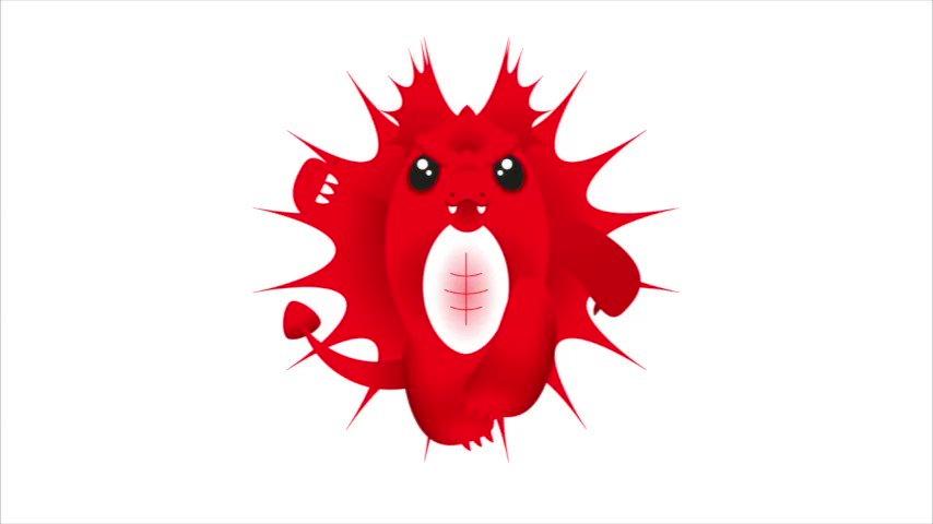 エナ・マイ(ウェールズ・レッドドラゴン)と応援しよう!太古の昔よりウェールズの伝説を食べながら地底で成長!大胆不敵な火の玉Baby Girl。RWC2019の外界の興奮から卵がかえり誕生!大分スタジアムで10月20日(日)ウェールズVSフランス!そして日本VS南アフリカ。準決勝へ向けて頑張るよ!!