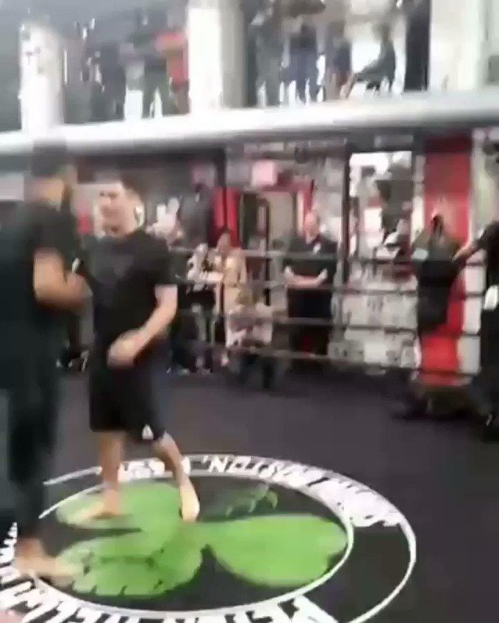Open Workout @ufc @UFCEspanol @panteraufc